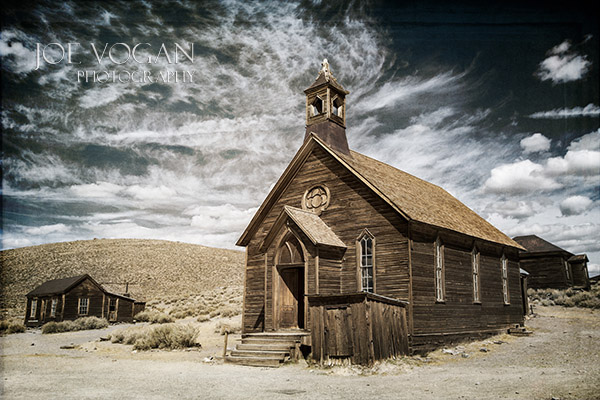 Methodist Church, Bodie State Historic Park, California