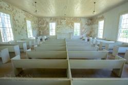 Interior of Mount Zion Methodist